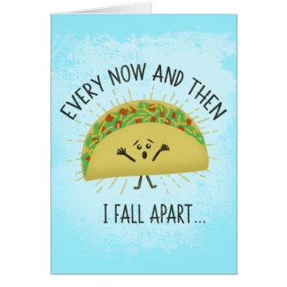 Grappige Taco Misser You Wenskaart