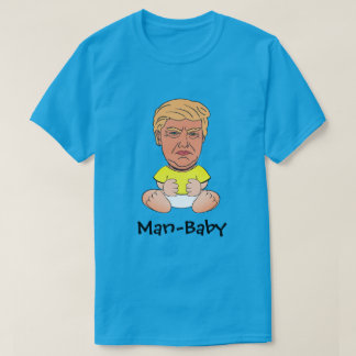 "Grappige Troef ""man-Baby "" T Shirt"