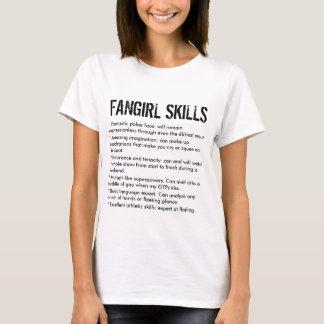 Grappige Vaardigheden Fangirl T Shirt