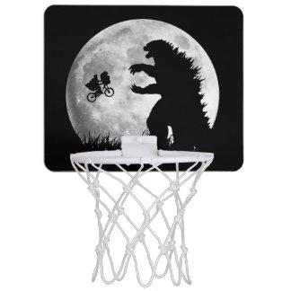 Grappige VREEMDELINGEN versus MONSTERS Mini Basketbalring