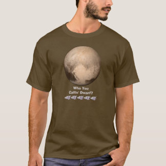Grappige Who u het DwergOverhemd van de Pluto T Shirt