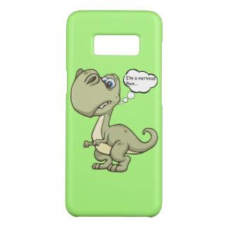 """Grappige """"Zenuwachtige Rex"""" T -t-rex Case-Mate Samsung Galaxy S8 Hoesje"""