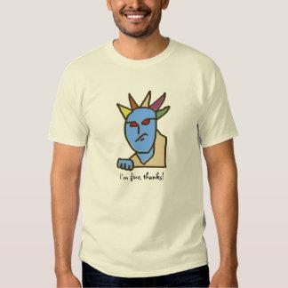 Grappige ZONDERLINGEN Geërgerde Cartoon Shirt