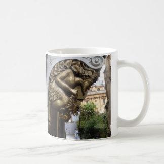 Gravure van een faun, Oxford Koffiemok