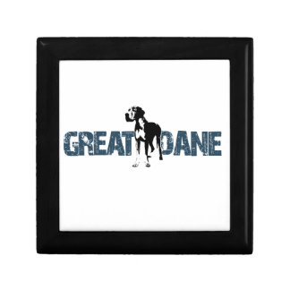 Great dane decoratiedoosje