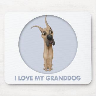 Great dane granddog muismat