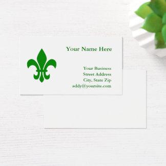Green Fleur DE Lis Visitekaartjes