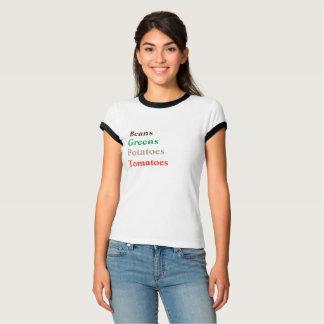 GREENS van BONEN de TOMATEN van AARDAPPELS - T Shirt