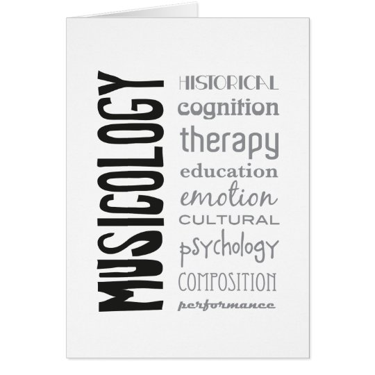 greeting card - MUSICOLOGY Briefkaarten 0