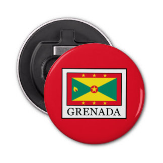 Grenada Button Flesopener