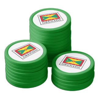 Grenada Pokerchips