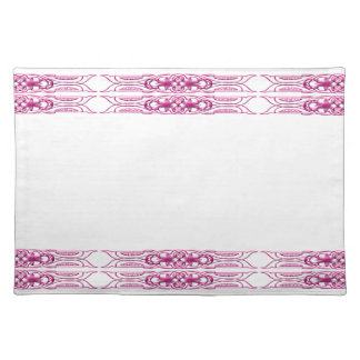 Grens 1 roze placemat