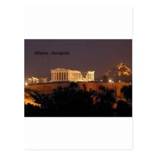 Griekenland - Athene - Akropolis (door St.K) Briefkaart