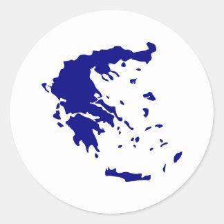 Griekenland Ronde Sticker