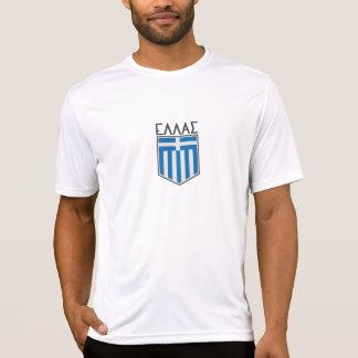 Grieks vlagoverhemd t shirt