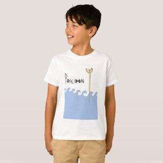 Griekse Goden. Poseidon. Kinder t-shirt