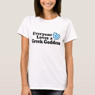 Griekse Godin T Shirt