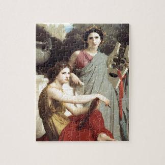 Griekse Kunst Twee van de Muziek het schilderen Legpuzzel
