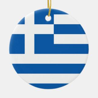 Griekse vlag van Griekenland, Rond Keramisch Ornament