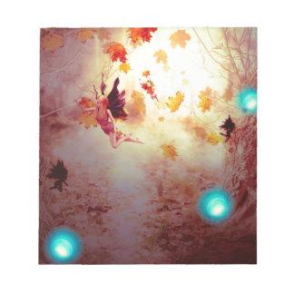 Griezelig Bos en Fairy2 Kladblokken