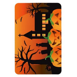 Griezelig de Halloween Gesneden Magneet van Pompoe