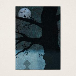 Griezelig nachtbladwijzer visitekaartjes