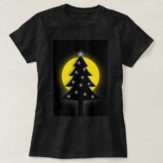 Griezelige Kerstboom T Shirt
