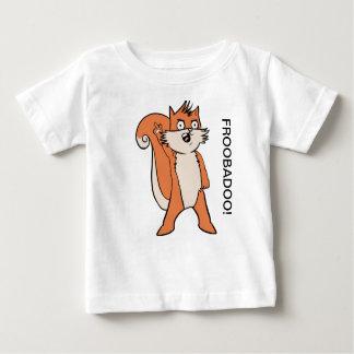 """Griezelige Skwerl Verhalen """"FROOBADOO!"""" 21 maand Baby T Shirts"""