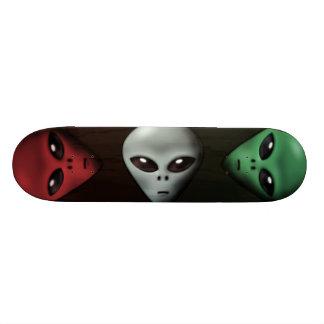 Griezelige Vreemdeling 19,7 Cm Skateboard Deck
