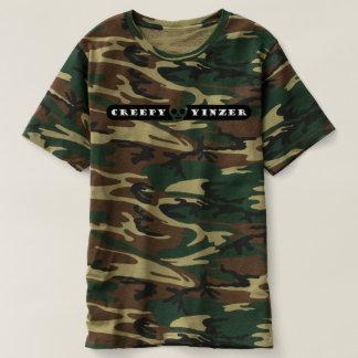 Griezelige Yinzer Schedel Emoji T Shirts