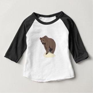 grijs-beer-rots-vector baby t shirts
