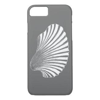 Grijs/Grijs en de Witte Druk van het Blok van iPhone 8/7 Hoesje