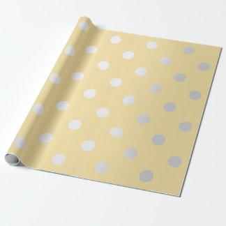 Grijs van de Pastelkleur van de Kanarie van het Inpakpapier