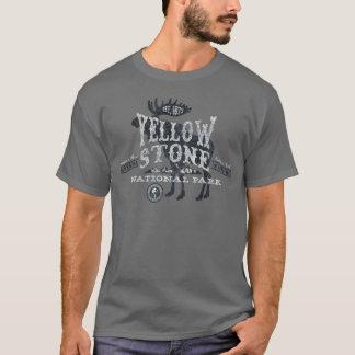 Grijs van de T-shirt van de Amerikaanse elanden