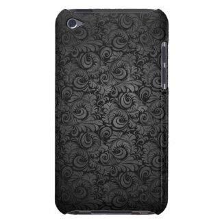Grijs & zwart het patroon ipod hoesje van het Dama