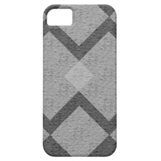 grijze argyle barely there iPhone 5 hoesje