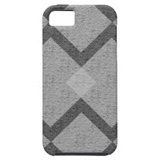 grijze argyle tough iPhone 5 hoesje