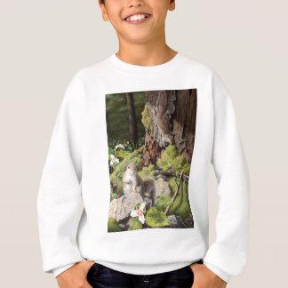 Grijze Eekhoorns en Trilliums, Eekhoorns en Bloem Trui