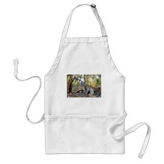 Grijze en Witte Koala Standaard Schort