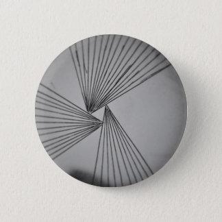 Grijze Expliciete Geconcentreerde Liefde Ronde Button 5,7 Cm