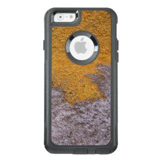 Grijze Geel van de Oppervlakte Beton van de bouw OtterBox iPhone 6/6s Hoesje