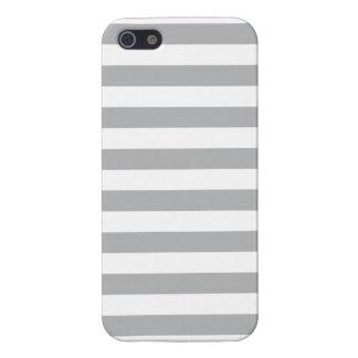 Grijze Horizontale Strepen iPhone 5 Case