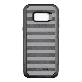 Grijze Horizontale Strepen OtterBox Commuter Samsung Galaxy S8+ Hoesje
