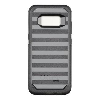Grijze Horizontale Strepen OtterBox Commuter Samsung Galaxy S8 Hoesje