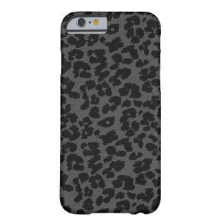 Grijze iPhone 6 van de Luipaard hoesje