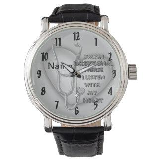 Grijze Uitzonderlijke Verpleegster Horloge