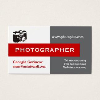 Grijze, witte, rode opvallend van de fotograaf