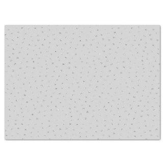 Grijze Zilveren Confettien Tissuepapier