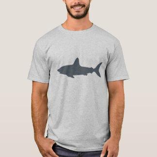 Grijze Zwemmende Haai T Shirt