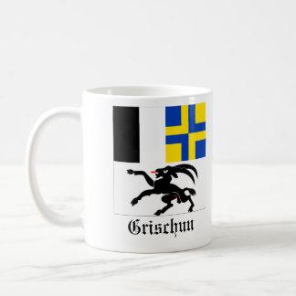 Grischun, de Vlaggen van Svizra Bandiera Koffiemok